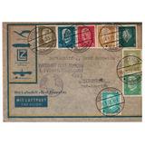 Zeppelin Envelope Alemanha Para Recife 1932 Cz065