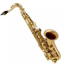 Saxofone Sax Tenor Laqueado Si Bemol Vogga Vsts701 Com Case