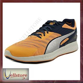 Tenis Puma Hombre Ignite V2 Round Toe Orange Running 9566732a55333