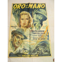 Afiches De Cine Antiguos Con Pepita Serrador (venturi)