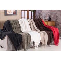 Manta Para Sofa Capa Em Chenile - 1,20m X 1,80m Varias Cores