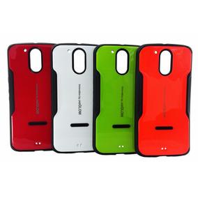 Funda Protector Moto G4 Plus Case Uso Rudo I-glow Envío Dhl