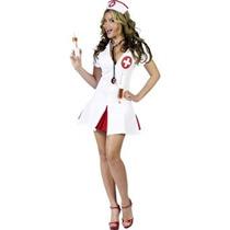 Disfraz Diga Ahhh! Traje Atractivo De La Enfermera