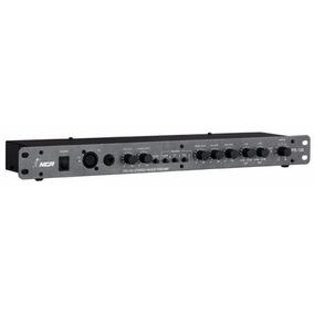 Pré Amplificador Nca Pr100 Com Gongo Sistema Som Ambiente
