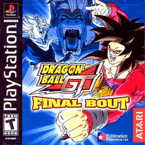 Dragon Ball Gt Final Bout - Playstation 1 - Psx 1997 Psone