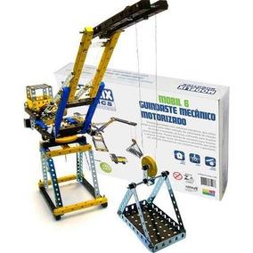Guindaste Motorizado Brinquedo Montar Robótica - Modelix