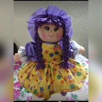 Muñecas De Trapos Artesanales Oferta Especial