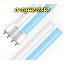 Lampada Pl Azul E Branca 18w Para Aquarios 4 Pinos