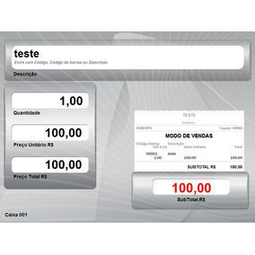 Programa Sistema De Vendas Pdv Lojas E Supermercados