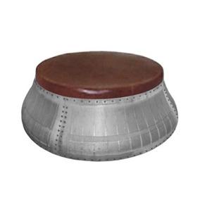 Sofá Redondo Customizado Com Aro De Turbina De Avião