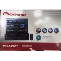 Reproductor Pioneer Avh-6450bt Pantalla Motorizada 1 Dim