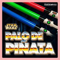 Palo Para Piñata Sable De Star Wars Para Fiesta Temática