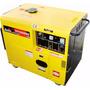 Gerador Diesel 5500w Trifasico Cab Toyama 220 22894