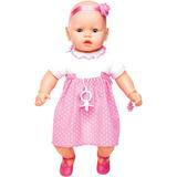 Boneca Meu Bebê Branco Estrela
