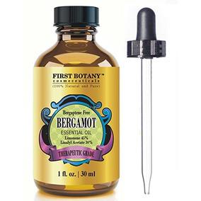 Aceite Esencial De Bergamota Indu 100% Puro Prensado Frio
