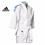 Kimono Adidas Judo J200e Infantil Com Faixa Branca - 1.30m