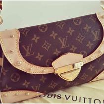 Cartera Importada Marca Reconocida Cuero Vuitton