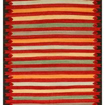 Alfombra / Tapete Handmade Afghan Kilim Rug, Multi-colored,