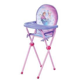 Cadeira De Papinha Frozen Cadeirinha Infantil Boneca Reborn