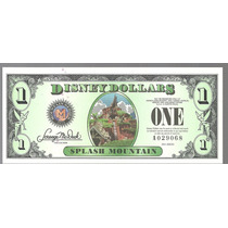 Billete De Disney 1 Dolar Series 2014