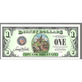 Billete De Disney 1 Dolar Series 2014