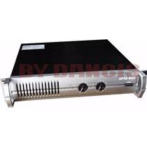 Amplificador Audio Potencia Apx-800 American Pro 820 Watts