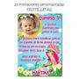 Tarjetas Invitaciones Cumpleaños + Cartel C Foto Frutillita
