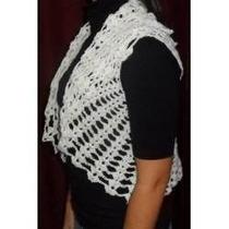 Chalecos Mujer Tejidos Hilo De Verano Crochet Promo Navidad