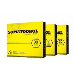 Kit 3x Somatodrol - Complexo Ativador 90 Cápsulas - Original