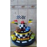 Tortas Y Cupcakes Infantiles Para Cumpleaños De Cars Rayo Mc