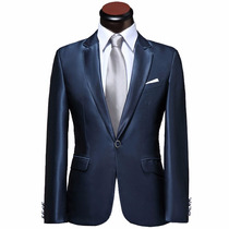 Terno Blazer Masculino Casamento Formatura Festa Slim Fit