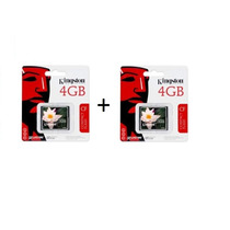 Kit 2 Memoria Compact Flash Kingston 4gb (empaque)