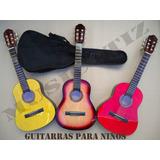Guitarra Criolla Mini Niño Colores Musikoz Gcm