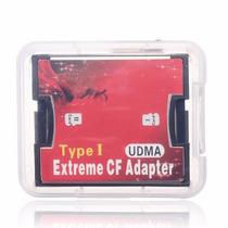Adaptador Duplo Cartão Microsd P/ Compact Flash - Tipo1 Cf1