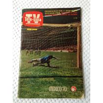 Revista Tele-guía Del Mundial México 70