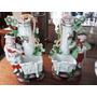 Floreros De Porcelana Alemana En Pareja #0733
