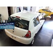 Renault Clio Mio 5p 0km Precio Plan Policia Blanco 2016