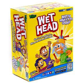 Wet Head Desafio Agua Juego Sombrero Ruleta Tv Ink Educando