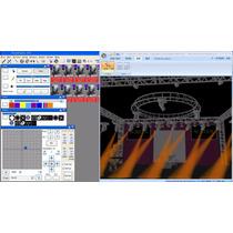 Interface Dmx512 Usb Com Software 3d Dmx 512 Controle De Luz