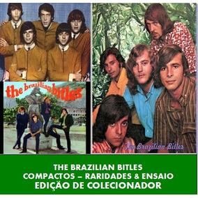 Cd - The Brazilian Bitles - Compactos/raridades/ensaio