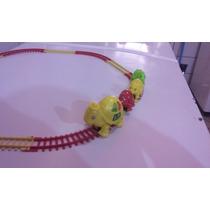 Ferrorama Trenzinho Tartaruga Carrinho De Criança Brinquedos