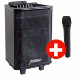 Parlante Karaoke Bluetooth Profesional + Microfono