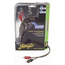 Stinger 5.2 Mts Cable Rca 2 Canales Calidad Sonido Si1217