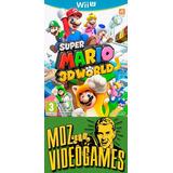 Super Mario 3d World - Wii U - Físico - Mdz Videogames