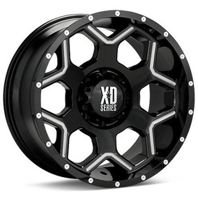 Rin Xd Crux Xd812 20x10 8x170 -24mm Offs Ford Super Duty