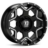 Rin Xd Crux Xd812 20x10 8x170 -24mm Offs Ford Super Duty