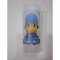 Vasos Plasticos Personalizados Pocoyo Cumpleaños 10u