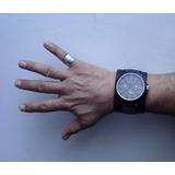 Reloj pulsera hombre malla de cuero