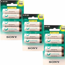 Promo 12 Pilas Aa Sony 2500 Cycle Energy Factura A O B Orig
