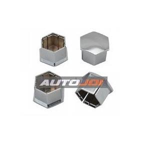 Capa Parafuso Roda Cromada Peugeot Citroen - Jogo 4 Peças